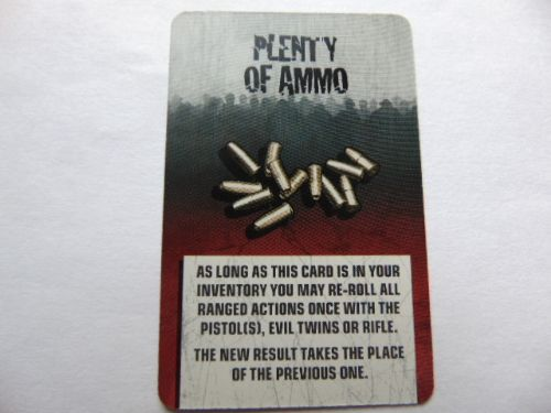 survivor equipment card (plenty of ammo)